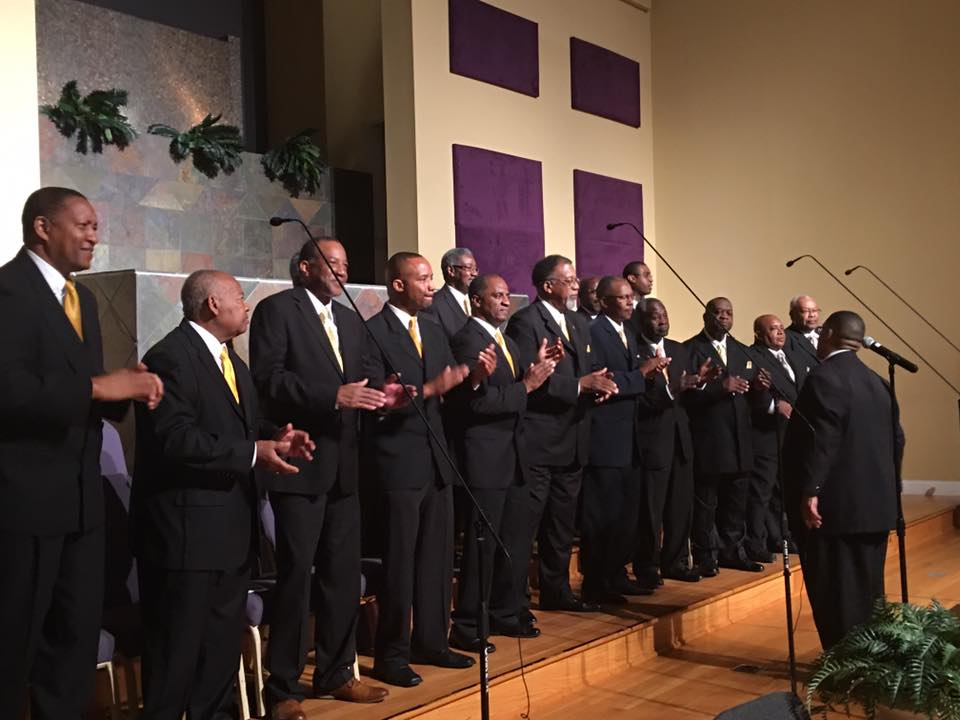 Mens Choir -Church Ministries of Macedonia Baptist Church of Macon, GA