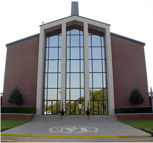 Front Entrance at Macedonia Church of Macon, GA